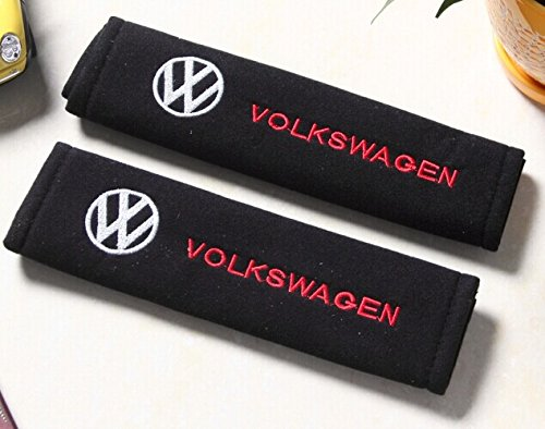 D&R® Set of 2 Seat Belt Covers Shoulder Pads For VW Volkswagen (Vw Seatbelt Belt compare prices)
