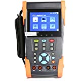 "Woshida 3.5"" LCD CCTV Tester Digital Multimeter Ping IP POE Test 4G SD Card Line Function HVT-2603"