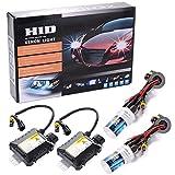 55W HID Xenon Licht Scheinwerfer Conversion Kit H1 6000K Wechselbirne MA92