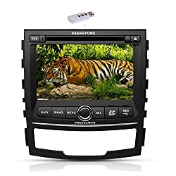 See Pupug In Deck GPS Car DVD Player With 3G Dongle Radio Stereo for Ssangyong Korando TV Video Details
