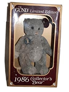 Gund 1986 Limited Edition Collector's Bear