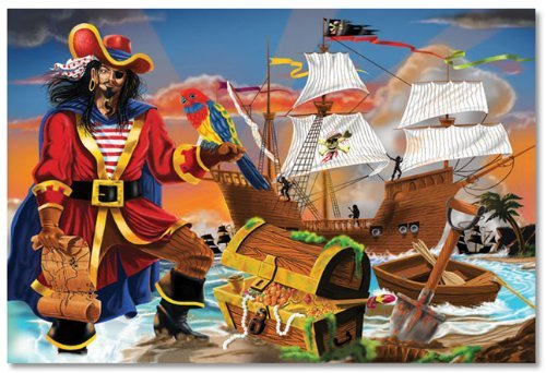 Pirate's Bounty Floor (100 pc) 12""