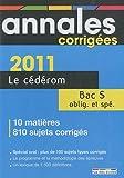 echange, troc Rue des écoles - Annales corrigées Bac S : CD-ROM