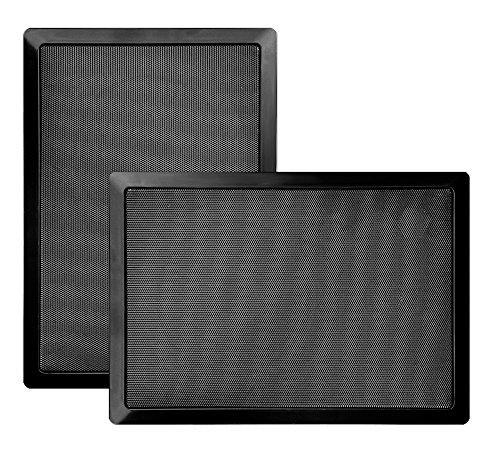 Pyle Pdiw55Bk 5.25 Inch In-Wall / In-Ceiling Stereo Speakers, 2-Way, Flush Mount, Black (Pair)
