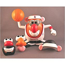 "Houston Rockets NBA Sports-Spuds"" Mr. Potato Head Toy"""
