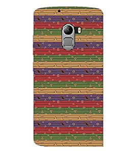 PrintDhaba Pattern D-5364 Back Case Cover for LENOVO VIBE K4 NOTE (Multi-Coloured)