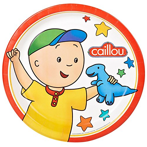 Caillou Dinner Plates (8)