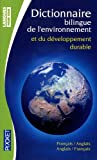 dictionnaire de lenvironnement et du dévéloppement durable