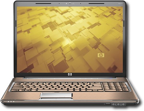 HP PAVILION NOTEBOOK DV7-1285DX 2.4GHz, 500GB HARD DRIVE, 6GB RAM, 17 LCD LAPTOP PC