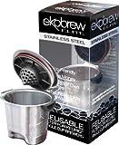 Ekobrew Stainless Steel Elite Cup, Refillable K-Cup For Keurig K-Cup Brewers