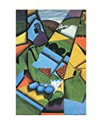 Especial Arte Lienzo Landscape with houses in Ceret - Juan Gris Multicolor