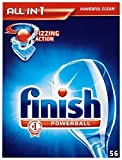 Finish All-in-One Regular (Pack of 1, Total 56 Tablets )