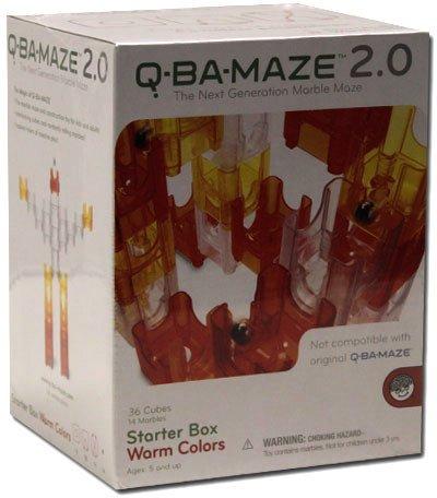 Q-Ba-Maze 2.0 Starter Box Warm Colors front-742324