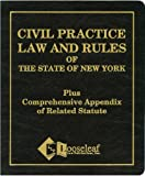 img - for Civil Practice Law & Rules Plus Appendix: NYS Certified book / textbook / text book