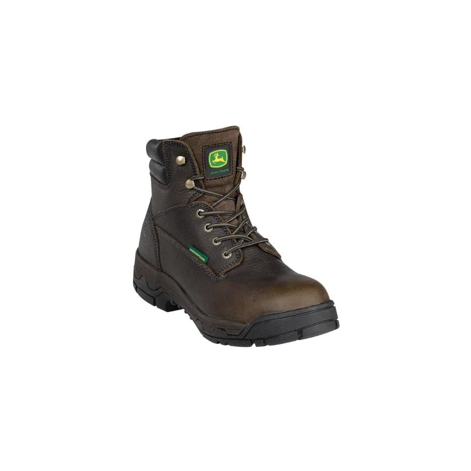 John Deere Men's 6 Inch WP Lace Up Industrial And Construction Shoes