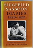 Siegfried Sassoon: Diaries, 1920-1922 (057111685X) by Sassoon, Siegfried