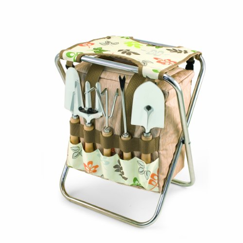 6-pc. Gardening Seat And Tool Set