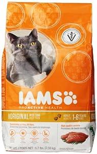 Iams ProActive Health Adult Original Tuna Premium Cat Nutrition Food, 5.7-Pound