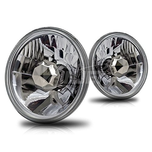 Starr Lite 5' Round Conversion Head Lights With Light Bulb - (Clear)