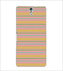 PrintDhaba Pattern D-5151 Back Case Cover for SONY XPERIA C5 ULTRA (Multi-Coloured)