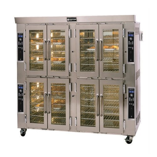 Natural Gas And 208V Doyon Ja28G Jet Air Double Deck Gas Convection Oven ? 260,000 Btu