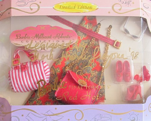 BARBIE MILLICENT ROBERTS Final Touches RED HOT Limited Edition SIGNED by DESIGNER Nora Harri-Trezona (1997)