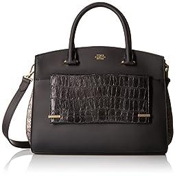 Vince Camuto Karma Shoulder Bag, Black/Black, One Size