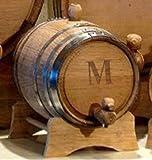 2- Liter Personalized Mini-Oak Whiskey Barrel