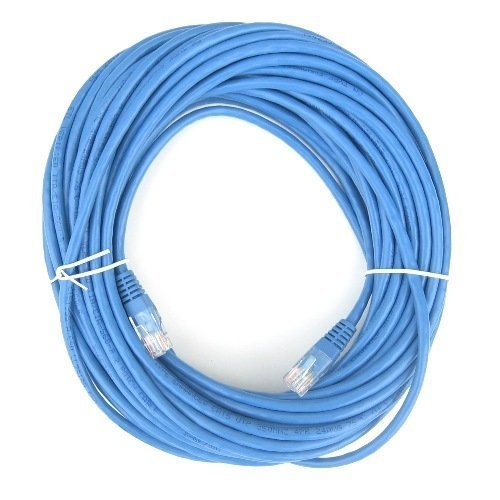 BlueRigger premium Cat5e 50ft (15m) ethernet cable - supports upto 1Gbps - for your Computer, Xbox 360, PS3
