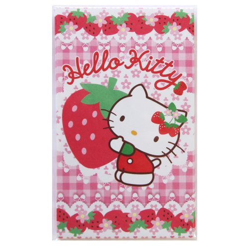 Pochi bag / envelope (Hello Kitty / strawberry)