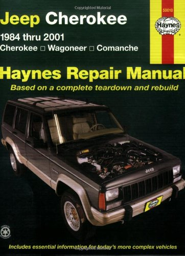 Jeep Cherokee: 1984 Thru 2001 - Cherokee - Wagoneer - Comanche (Haynes Repair Manual) back-542423