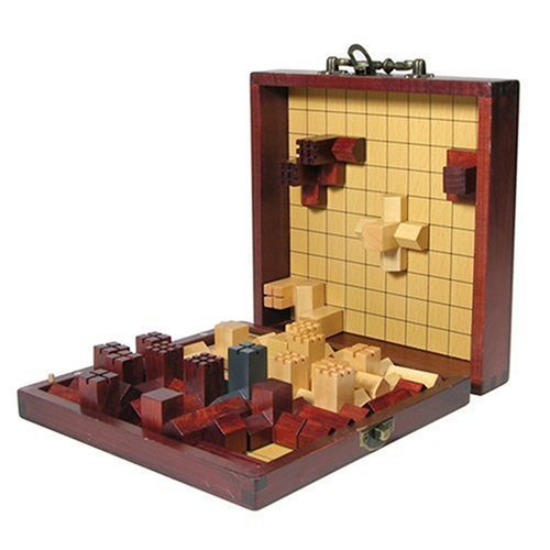 Cathedral Medieval Strategic Board Game, Brain Teaser