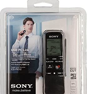 Sony digital voice recorder- MP3 Recording and playback