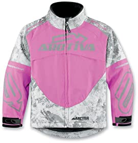 Comp 6 Jacket Youth Pink Camouflage Size 12 Arctiva 3122-0199