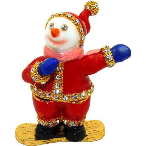 Objet D'Art Release #420 Christmas Trinket Box