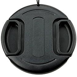 JJC LC-46 Universal 46mm Lens Cap for Nikon Canon Camera Black