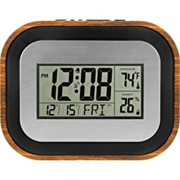 Better Homes and Gardens Atomic Indoor Temp Wall Clock