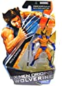 X-Men Origins Wolverine Comic Series 3 3/4 Inch Action Figure Wolverine with Blue and Yellow Suit