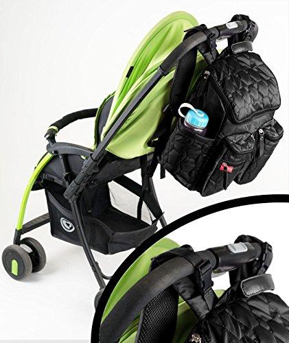 wallaroo diaper bag backpack with stroller straps wet bag. Black Bedroom Furniture Sets. Home Design Ideas