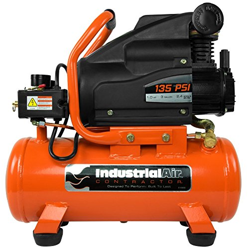 [해외]산업용 공기 계약자 C031I 1 RHP 핫도그 공기 압축기, 3 갤런/Industrial Air Contractor C031I 1 RHP Hot Dog Air Compressor, 3 gallon