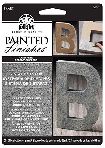 plaidcraft-folk-art-faux-paint-kit-concrete-paper-multicoloured-2-piece