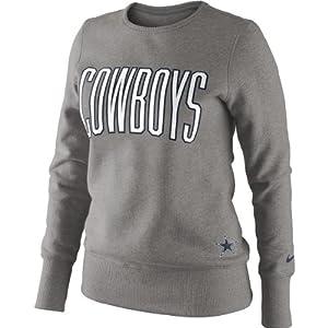 Dallas Cowboys Tailgater Fleece - Gray - Medium by NFL