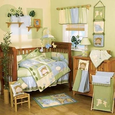 Amazon CoCalo Oasis 6 Piece Crib Bedding Set Baby
