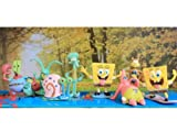 Spongebob Squarepants 8 Piece Play Set with 8 SpongeBob Figures
