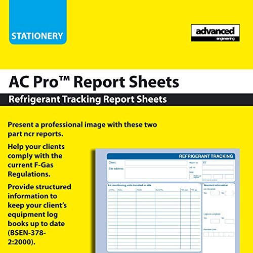 refrigerant-tracking-service-report-pad