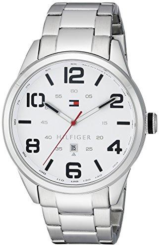 Tommy-Hilfiger-Mens-1791159-Analog-Display-Quartz-Silver-Watch