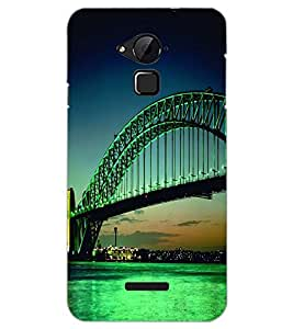 PrintDhaba BRIDGE D-6502 Back Case Cover for COOLPAD NOTE 3 LITE (Multi-Coloured)