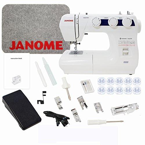 Janome 2222 Sewing Machine with Bonus Bundle (Janome Mat compare prices)