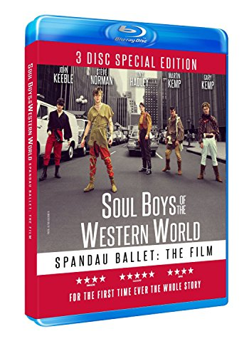 Spandau Ballet The Film: Soul Boys Of The Western World (3 Disc Special Edition) Region Free