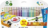 Papermate Reynolds Crealo Feutres de coloriage Super lavables, Lot de 24...
